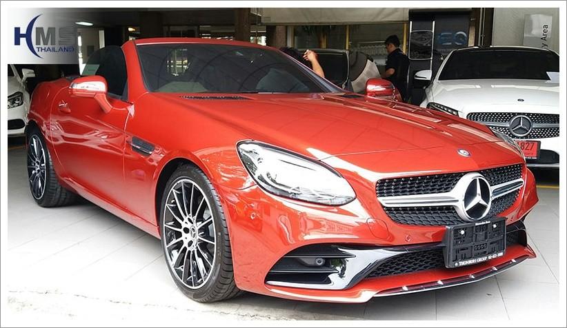 Mercedes Benz SLC300 DVR BlackVue DR650GW 2CH