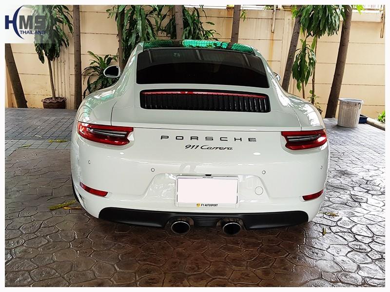 20180706 Porsche 911,ติดตั้งกล้องบันทึกรถ Porsche 911,