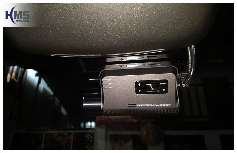 20171012 Mercedes Benz GLC250d_W253_กล้องหน้ารถ_Thinkware_F770_front