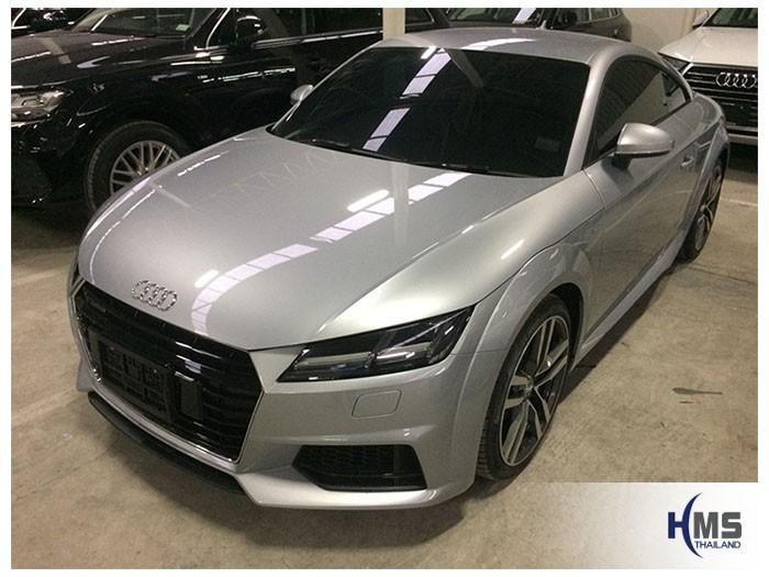 20180914 Audi TT front,Audi Thailand,A4,A5,A6,Q2,Q3,Q5,Q7,TT,TTS, R8,navigation, Speednavi, Map, Navigator, Motor show Bangkok ,Motor expo, ราคา, pricelist ,มือสอง , โชว์รูม,