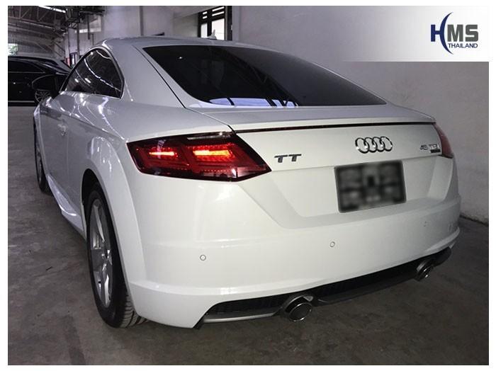 20180925 Audi TT 45TFSI quattro back,ภาพท้ายรถ Audi TT 45TFSI Quattro