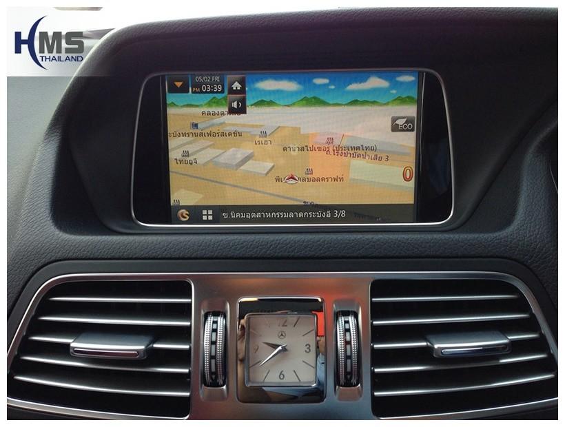 Navigation E250,ติดแผนที่ E250,เบนซ์ e250 แผนที่นำทาง