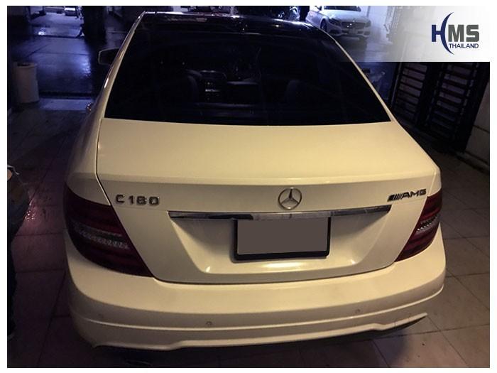 20180903 Mercedes Benz C180_W204_back,ภาพท้ายรถ Mercedes Benz C180 W204