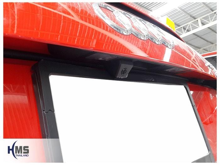 20180831 Audi TT back_Rear camera,Rear camera,จอถอยหลัง,กล้องมองหลัง,กล้องถอยหลัง,หมุนตามพวงมาลัย,PAS,Park assistant system