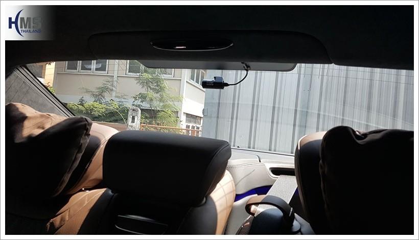 20171216 Mercedes Benz S500_W222_DVR_Thinkware_F770_rear