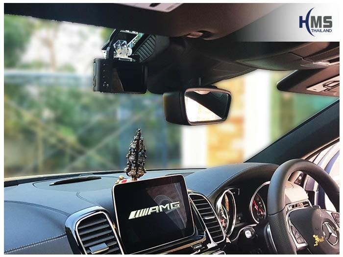 20180109 Mercedes Benz GLE43_W166_DVR_Thinkware_X550_front