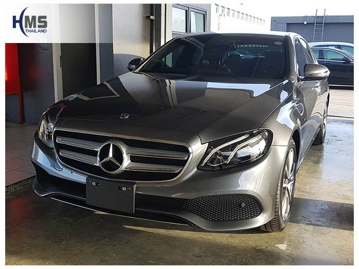 20180614 Mercedes Benz E350e_W213_front,ติดกล้องติดรถยนต์ บน Mercedes Benz E350e
