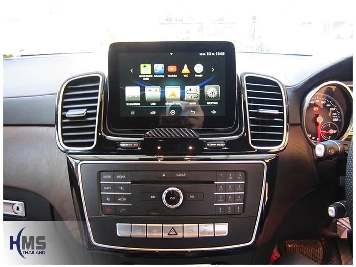 Mercedes Benz GLE500e W166(Navigation Andy+TV Digital ASUKA HR630)