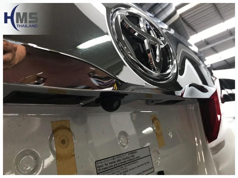 20181211 Toyota Alphard_Rear camera,Rear camera,จอถอยหลัง,กล้องมองหลัง,กล้องถอยหลัง,หมุนตามพวงมาลัย,PAS,Park assistant system,