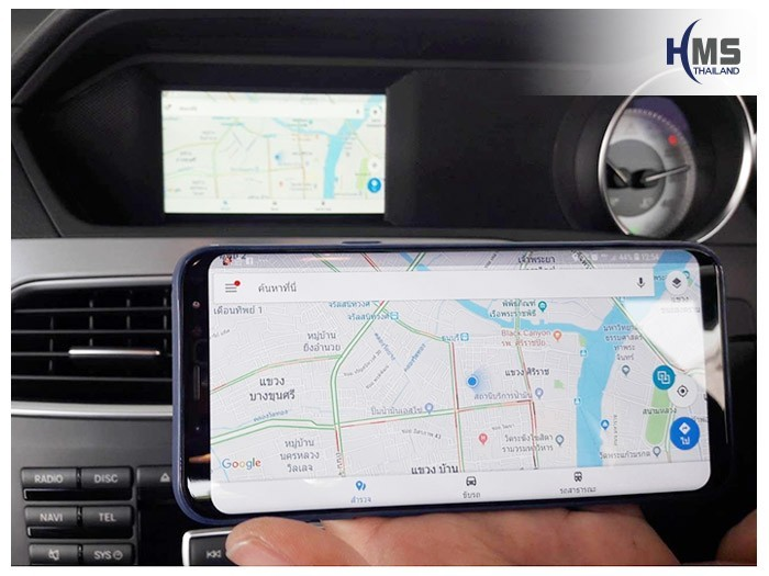 20180620 Mercedes Benz C180_W204_Wifi box,, carplay , android auto, screen mirroring, ภาพมือถือขึ้นจอรถยนต์ , , thinkware, Blackvue,carcamkorea , test drive