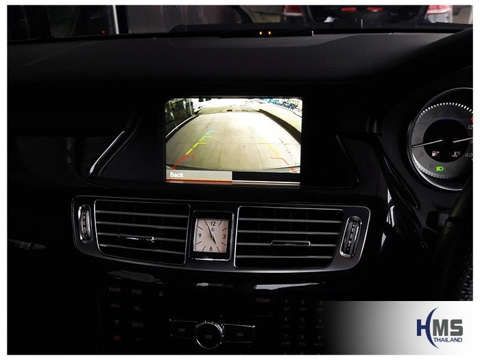 20180806 Mercedes Benz CLS250_W218_Rear camera_View,Rear camera,จอถอยหลัง,กล้องมองหลัง,กล้องถอยหลัง,หมุนตามพวงมาลัย,PAS,Park assistant system