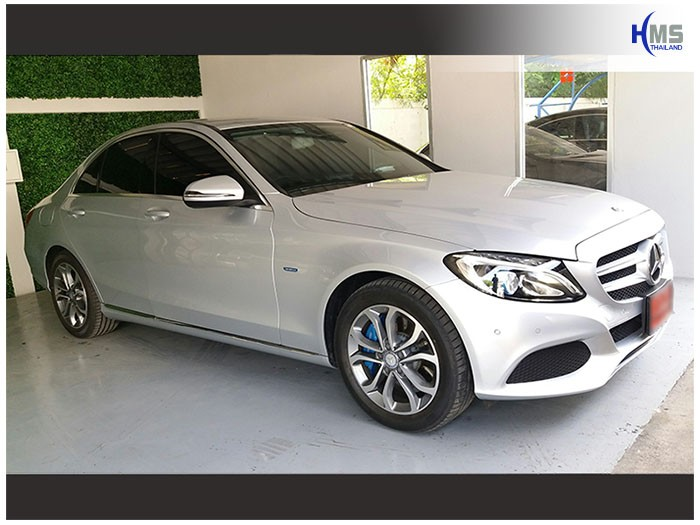 20170624 Mercedes Benz C350e_W205_side