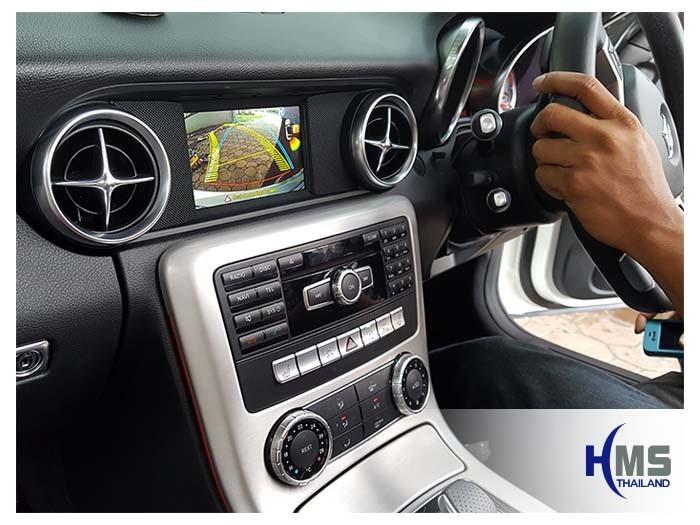 20170911 Mercedes Benz SLK200_R172_rear camera_view