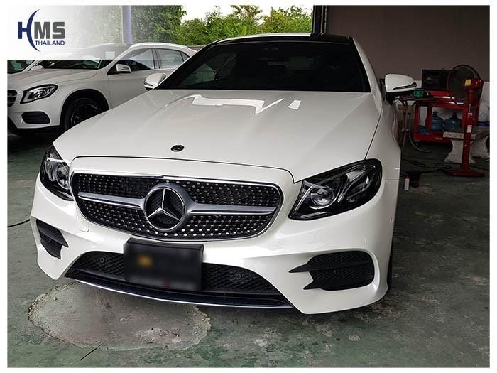 20180626 Mercedes Benz E200_Coupe_W213_front,ติดกล้องติดรถยนต์ บน Mercedes Benz E200 Coupe W207