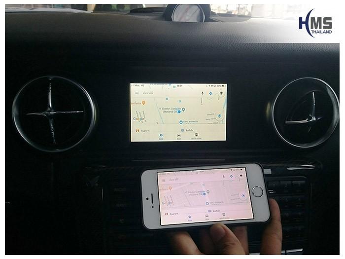 20180619 Mercedes Benz SLK200_W172_wifi box_Navigation,carplay , android auto, screen mirroring, ภาพมือถือขึ้นจอรถยนต์
