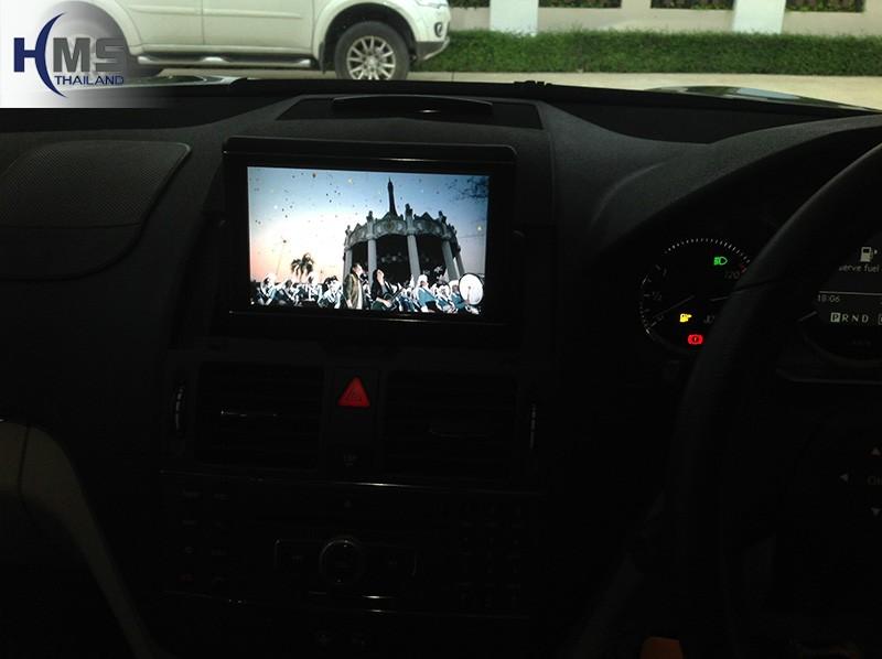 ทีวี C250,ติดทีวี Benz C250