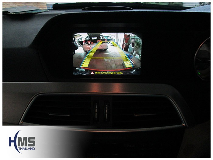 20150407 Mercedes Benz C180_W204_Rear camera_View