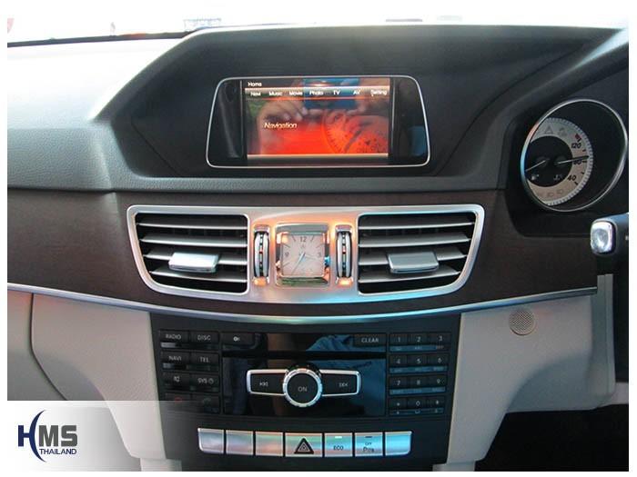 20150213 Mercedes Benz E200 W212_Navigation box_TC5000_Menu