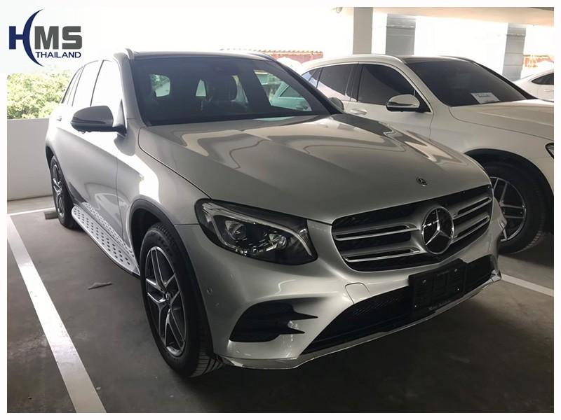 20190427 Mercedes Benz  GLC250d,รถ Mercedes Benz GLC250d W253 ติดตั้งกล้องหน้ารถโดย HMS Thailand