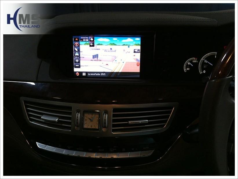 ระบบนำทาง,navigation S350,mercedes S350