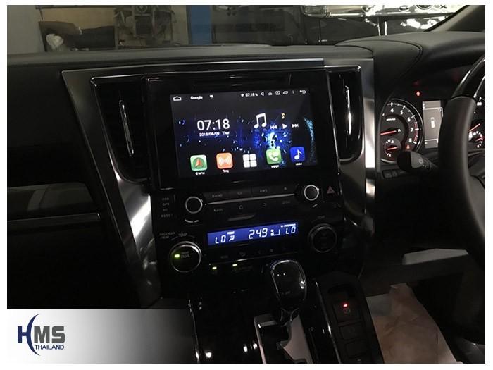 20180809 Toyota Vellfire_KD9000_Main_menu,วิทยุ OEM Fit ระบบ Android,หน้าเต็ม
