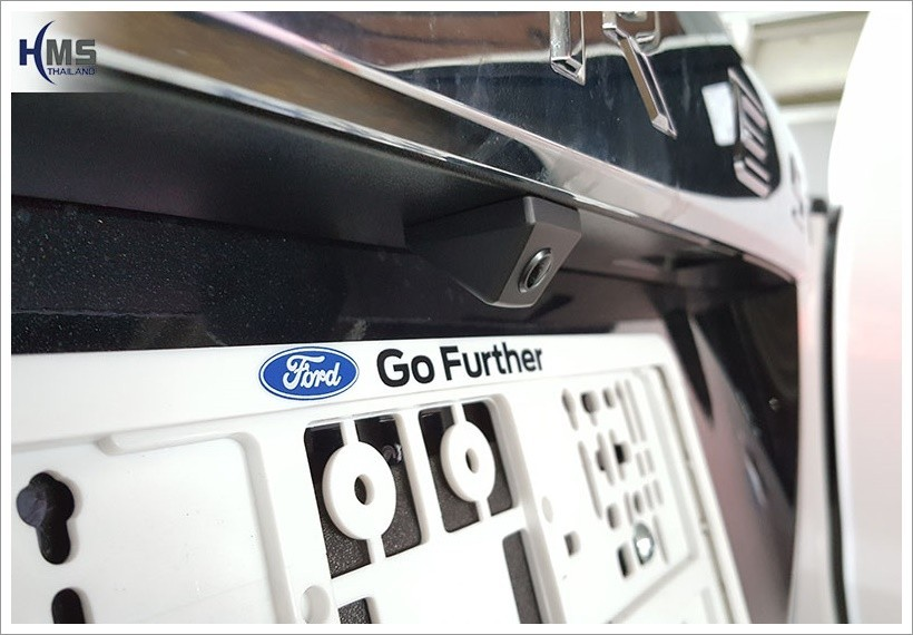 Ford Everest Rear Cam