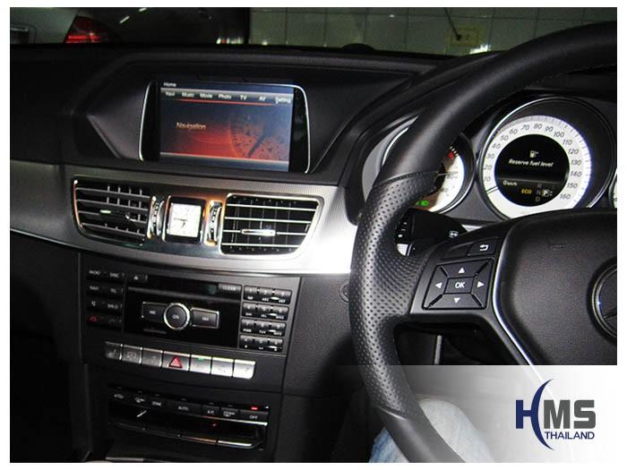 20150112 Mercedes Benz E200 W212_Navigation box_TC5000_menu