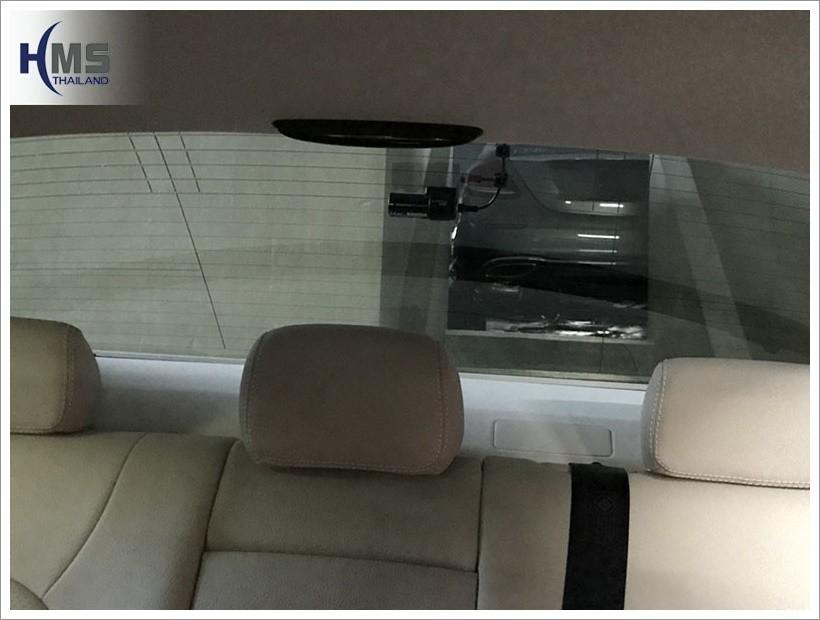 20171028 Mercedes Benz C350e_W205_DVR_BlackVue_DR650S_Rear