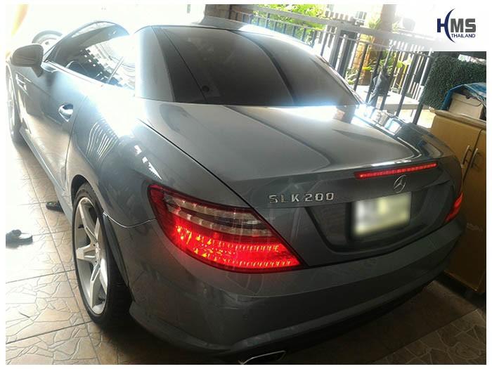 20170821 Mercedes Benz SLK200_W172_back