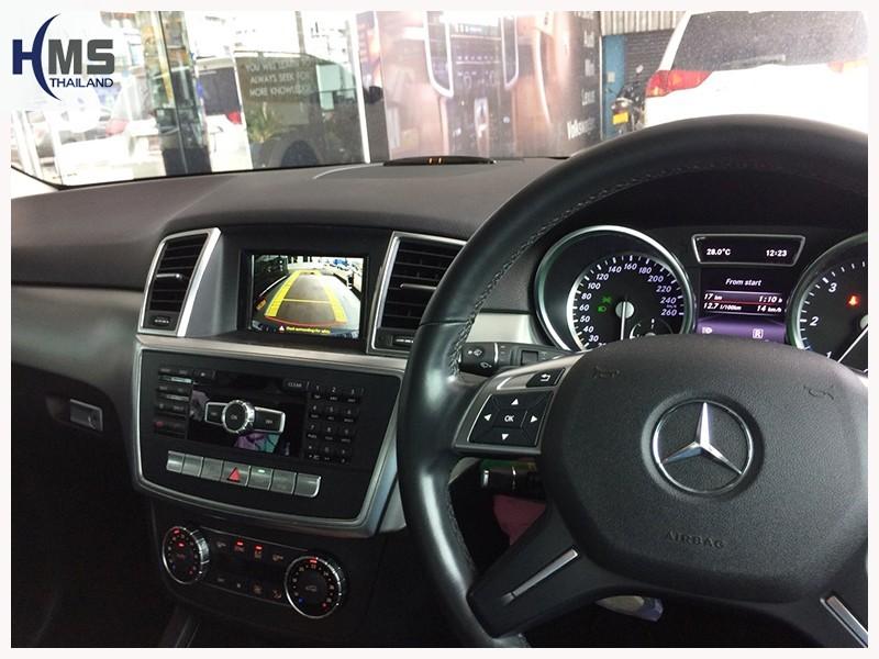 20180716 Mercedes Benz ML250 W166_Rear camera_view,Rear camera,จอถอยหลัง,กล้องมองหลัง,กล้องถอยหลัง,หมุนตามพวงมาลัย,PAS,Park assistant system