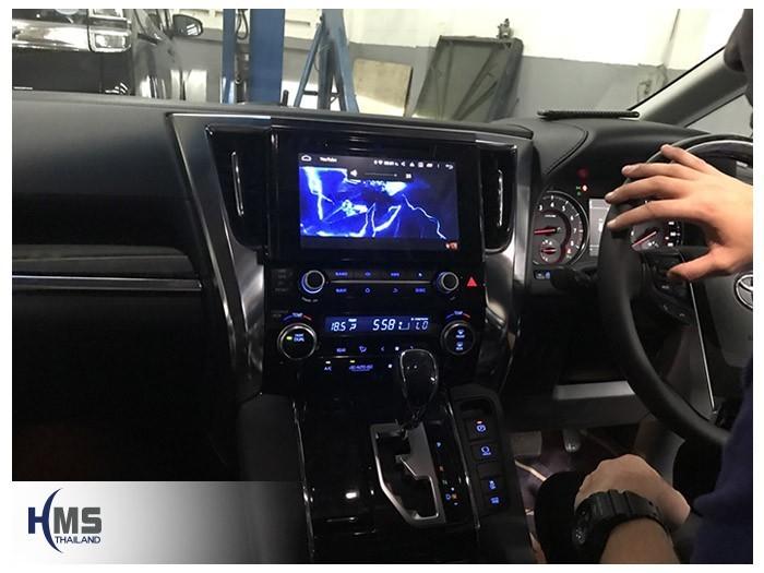 20180809 Toyota Alphard_KD9300_view,DVD Player,