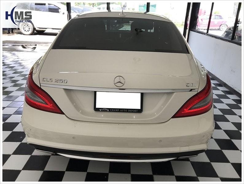 20171011 Mercedes Benz CLS250 Back