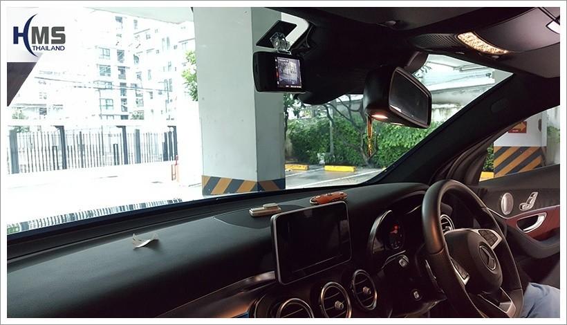 20180428 กล้องติดหน้ารถยนต์ Thinkware X330 บน Mercedes Benz GLC250d 4MATIC W253