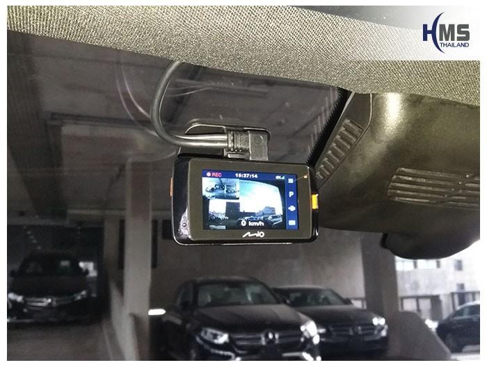 20180827 Mercedes Benz GLC250_Coupe_W253_DVR_Mio_MiVue_792,กล้องติดรถยนต์ Mio MiVue 792 ติดตั้งหน้ารถ Mercedes Benz GLC250 Coupe W253