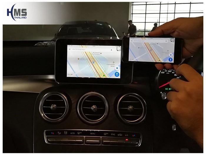 20171129 Mercedes Benz GLC250 Coupe_W253_Wifi box_navigation