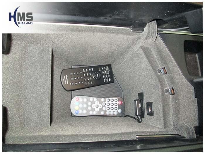 20150128 Mercedes Benz ML250_X116_DVD Player_Pioneer_AVH345UB_Remote