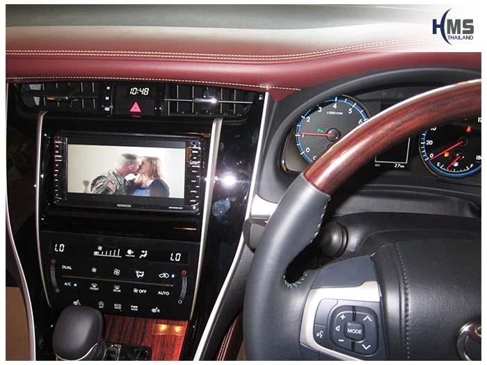 20150331 Toyota Harrier_DVD Player_Kenwood_DDX635WBT