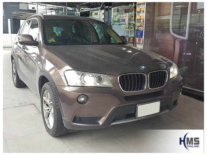 20180829 BMW X3 front,รถ BMW X3 Xdrive20d F25