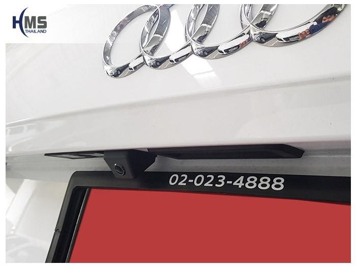 20180616 Audi Q5_Rear camera,,Rear camera,จอถอยหลัง,กล้องมองหลัง,กล้องถอยหลัง,หมุนตามพวงมาลัย,PAS,Park assistant system