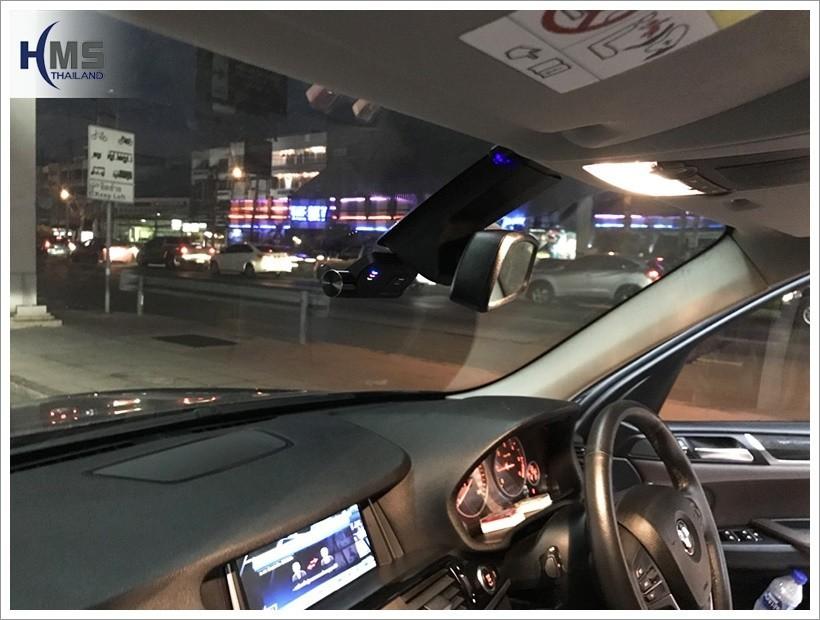 BMW X3 (ทีวีดิจิตอล Hr600 + กล้องติดรถยนต์ Thinkware F800 Pro)