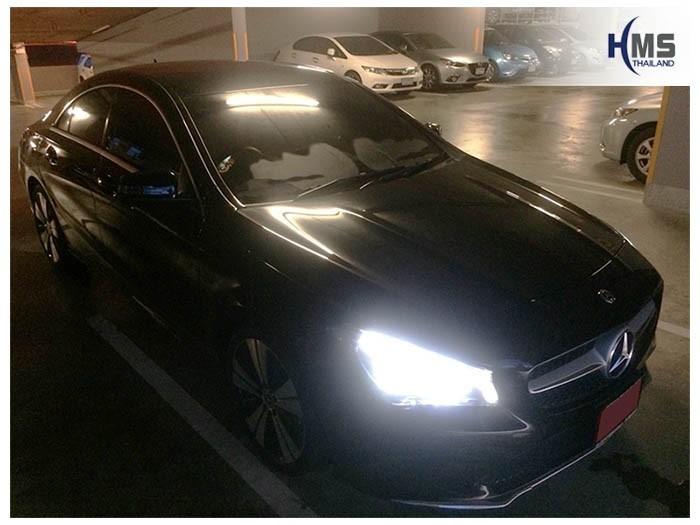 20180904 Mercedes Benz CLA200 C117_front,รถ Mercedes Benz CLA200 C117 ติดตั้ง Navigation box TC500 โดย HMS Thailand