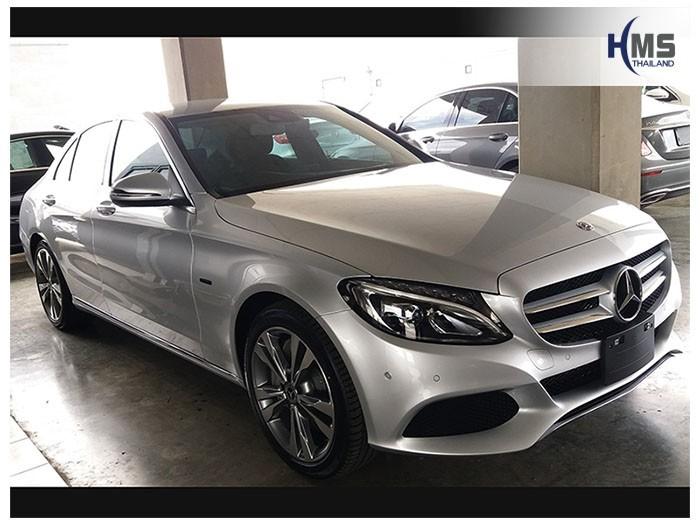 20180601 Mercedes Benz C350e W205_front,ติดตั้งกล้องหน้ารถโดย HMS Thailand