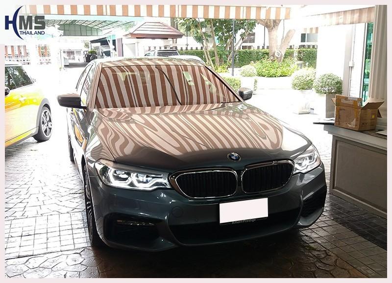 20180711 BMW 530e ,ติดกล้องติดรถยนต์ บน BMW 530e