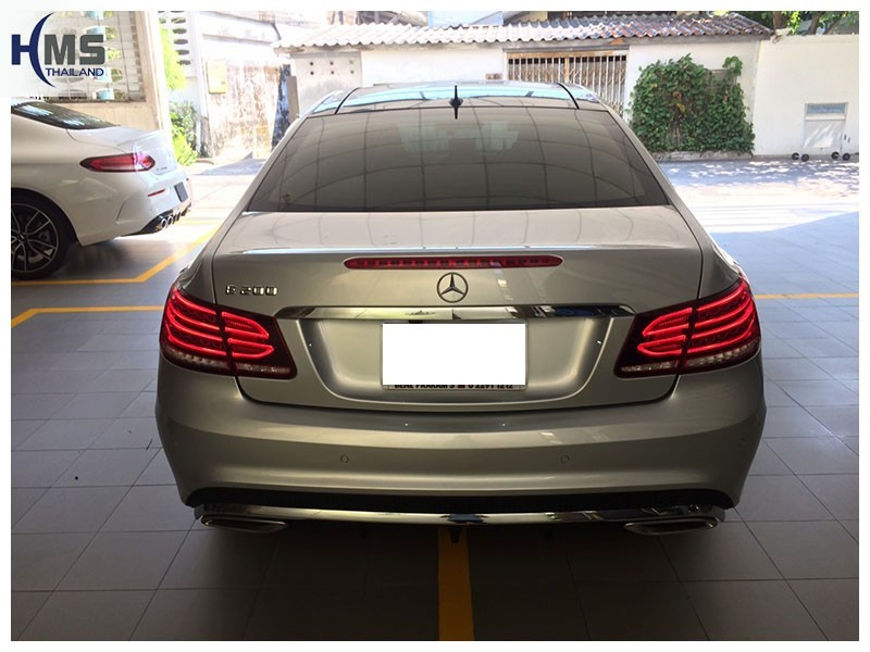20190312 Mercedes Benz E200 Coupe_W207_back
