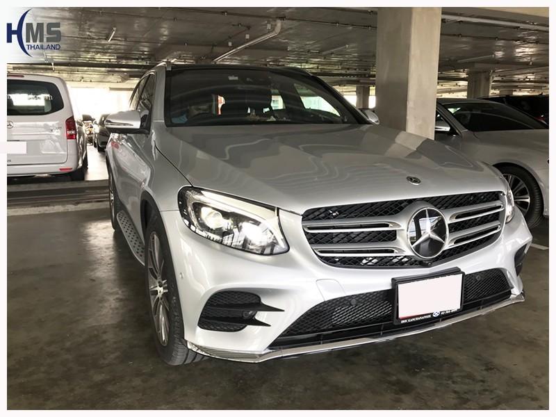 20180707 Mercedes Benz GLC250 Coupe_front,ติดดิจิตอลทีวี บน Mercedes Benz GLC250 Coupe W253
