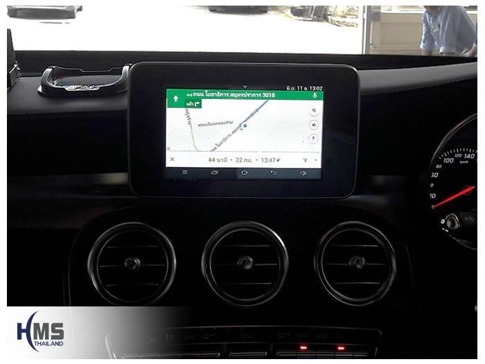 20180611 Mercedes Benz GLC250d_W253_Android_Andy_Navigation_Hood_dude,แผนที่, จีพีเอส, นำทาง,รีวิว, ทดสอบ,เนวิเกเตอร์, ประเทศไทย