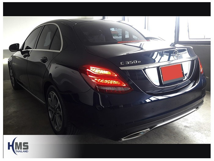 20180804 Mercedes Benz C350e_W205_back,Benz, Mercedes ,เบนซ์ ,เมอร์เซเดส, ซาลูน,ราคาเบนซ์,facelift ,Brabus ,AMG ,Bluetec ,Hybrid,ไฮบริด