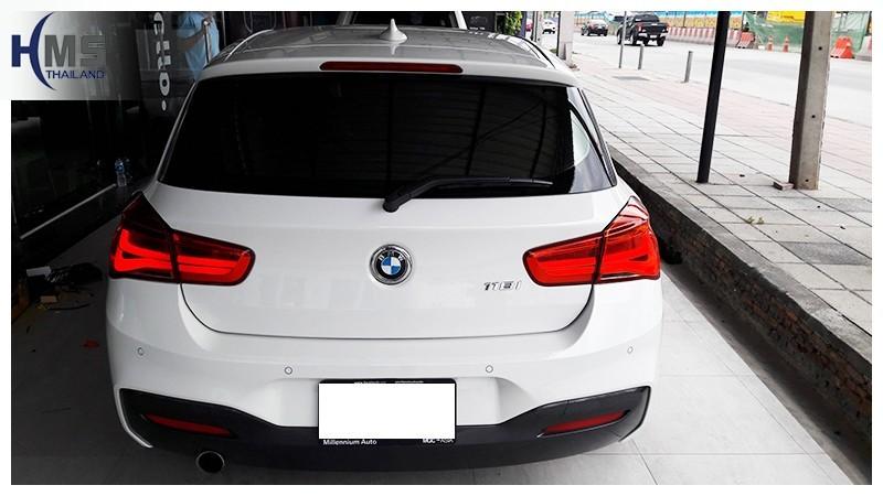 20181013 BMW 118i F20 ด้านท้าย