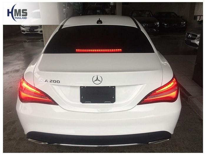 20180815 Mercedes Benz CLA200_C117_back,Benz, Mercedes ,เบนซ์ ,เมอร์เซเดส, ซาลูน,ราคาเบนซ์,facelift ,Brabus ,AMG ,Bluetec ,Hybrid,ไฮบริด