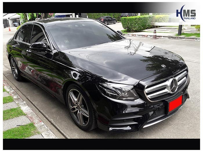 20180815 Mercedes Benz E350e_W213_front,ติดกล้องติดรถยนต์ Thinkware F800 Pro บน Mercedes Benz E350e W213